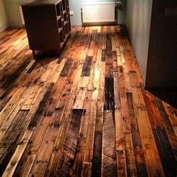 pallet flooring upcycling ideas to have a beautiful hardwood floor