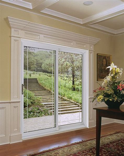 ideas for dressing patio doors idea for dressing up plain glass sliding doors wood
