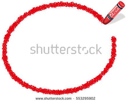 Red Licorice Circle Frame Isolated On Stock Illustration 172130888   Shutterstock