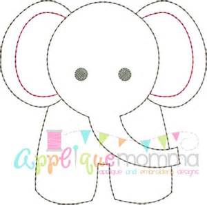 Baby Elephant Template by 25 Best Ideas About Elephant Template On