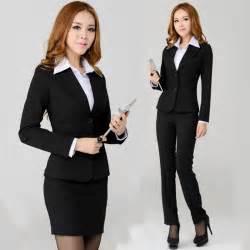 formal business professional clothes blazer women work