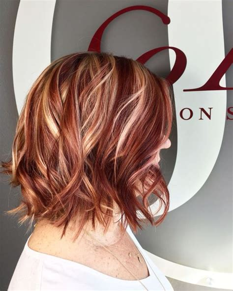 hairstyles red hair blonde highlights strawberry blonde hair best list of red and blonde hair