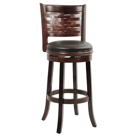 wood bar stools without backs leather bar stools without backs excellent dark brown