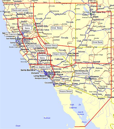 california map driving directions driving directions