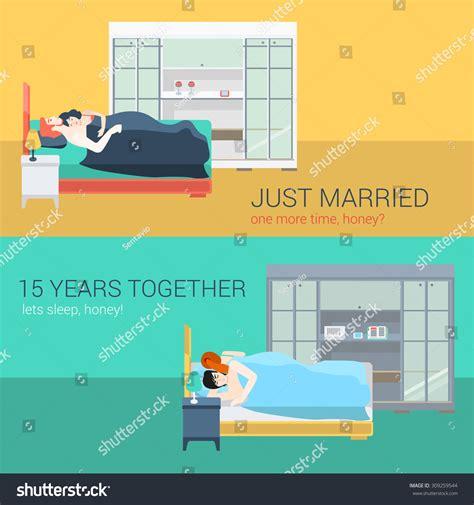 sex with wife in bedroom set family couple bedroom bed sleeping stock vector 309259544 shutterstock