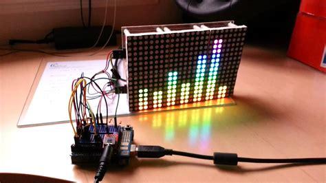 led matrix equalizer