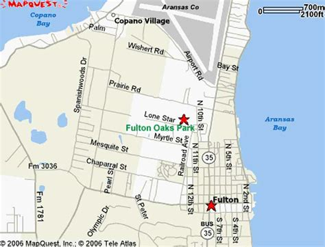 fulton texas map fulton oaks park rv mobile home park in rockport fulton texas maps