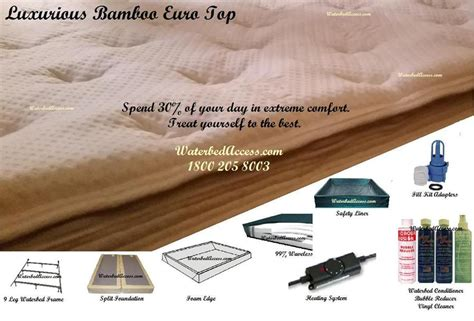 King Size Waterbed Bladder King Size Waterbed Bladder Free Flow Bladder For Softside Waterbed In Eastern King Cal King