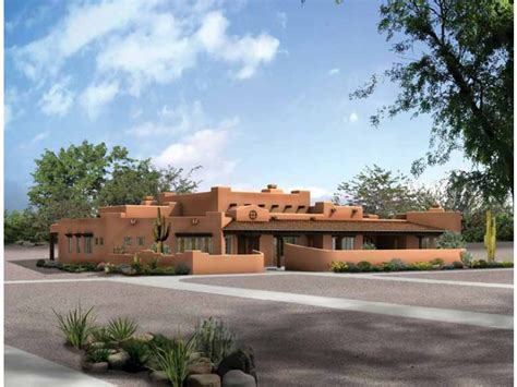 southwest style house plans up to date pueblo hwbdo09478 adobe from