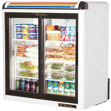 Countertop Refrigerator by True Gdm 9 Ld White Countertop Two Section Display