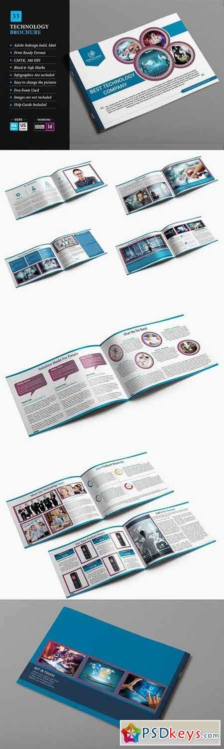 Technology Brochure Template by Technology Brochure Template 33 753099 187 Free