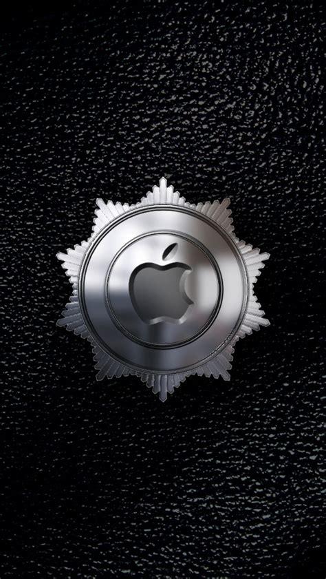 metal apple wallpaper metal apple logo medal wallpaper free iphone wallpapers