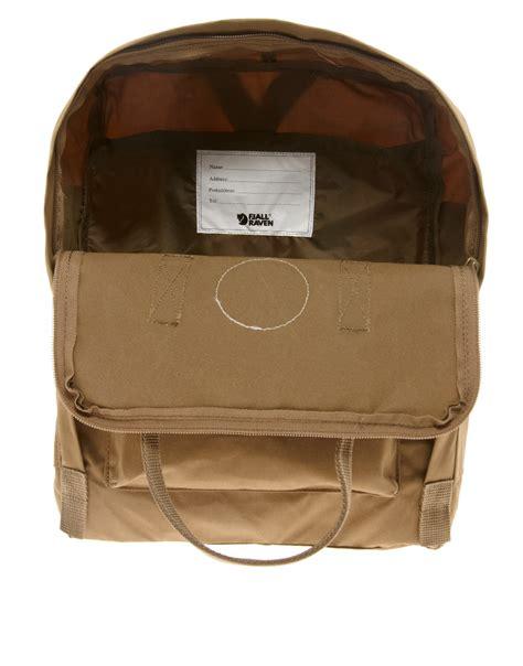 Fjallraven Ovik Shoulder Bag Hickory Brown lyst fjallraven kanken backpack in brown for