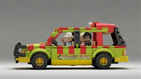 jurassic park car lego lego jurassic ideas are prehistorically awesome nerdist