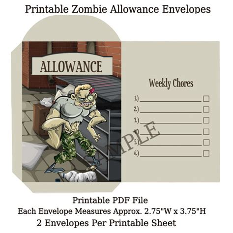 printable coin envelope printable envelopes children s allowance coin envelopes