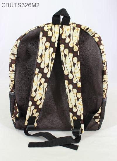 Tas Ransel Mini Unik tas ransel batik mini motif batik klasik tas sekolah