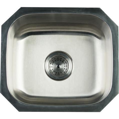 16 kitchen sink glacier bay undermount stainless steel 16 in single bowl