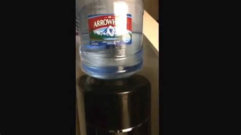 Water Dispenser Nestle arrowhead water cooler issues with loud noise