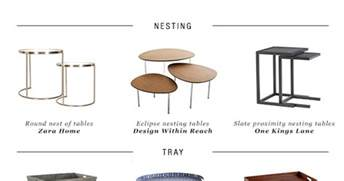 Different Types Of Tables by 10 Side Table Types For Every Living Room Style Paradissi