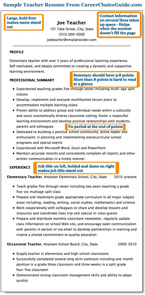 two years experience resume sle sle resume page 1 teaching business