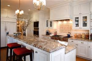 Granite Kitchen Surfaces Granite And Backsplash Choices Which Would You Do