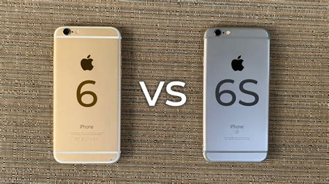 V Iphone 6 Iphone 6 Vs Iphone 6s 2019 Comparison