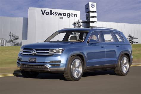 volkswagen chattanooga vw confirms midsize suv for us market the fast lane car