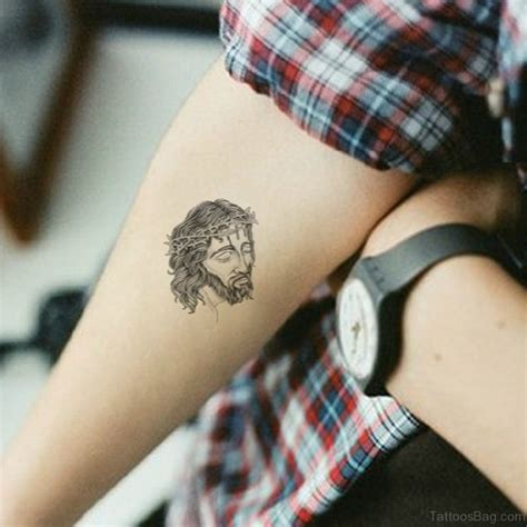 72 great looking jesus tattoos for arm