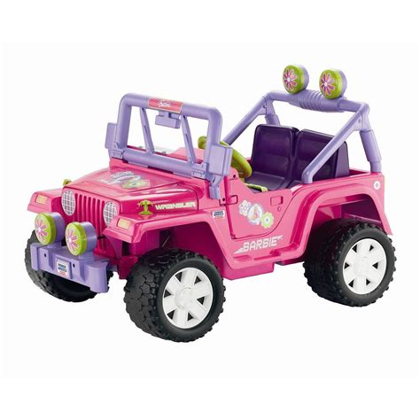 barbie jeep true story illegally parked barbie jeep receives ticket