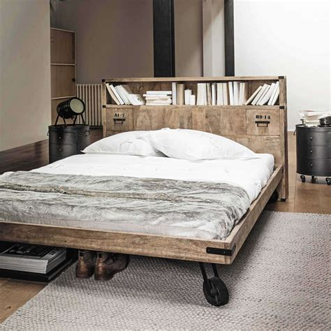 Beautiful Testiere Letto Originali #1: testata-di-design-maison-du-monde.jpg