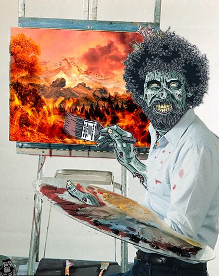 bob ross painting in photoshop bob ross hobby lobby joachim west