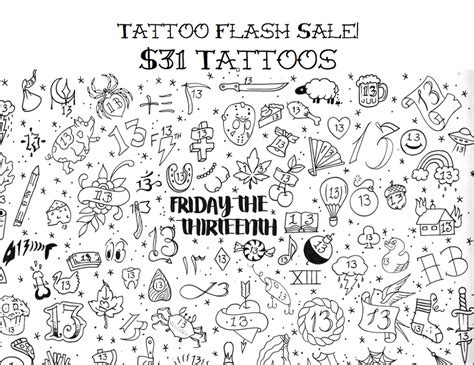 friday the 13th tattoos special friday the 13th is actually the day to get a