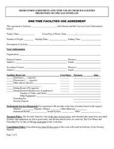 Facilities Rental Agreement Template by Best Photos Of Agreement Form Template Blank Contract