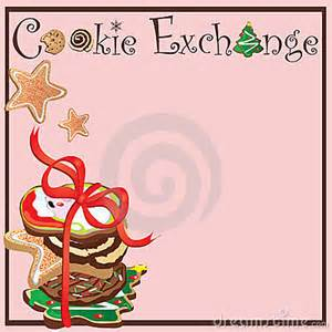cookie exchange party royalty free stock image image 11821716