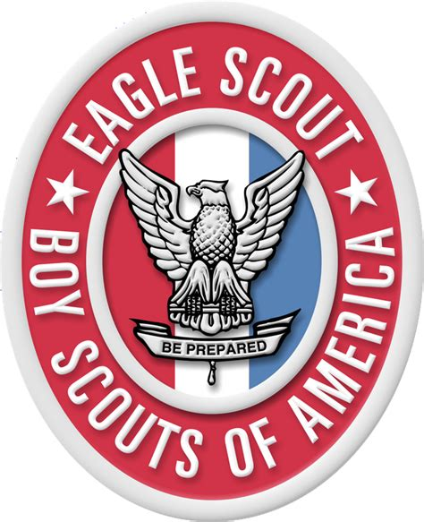 scout eagle large eagle scout badge and medal image for presentations