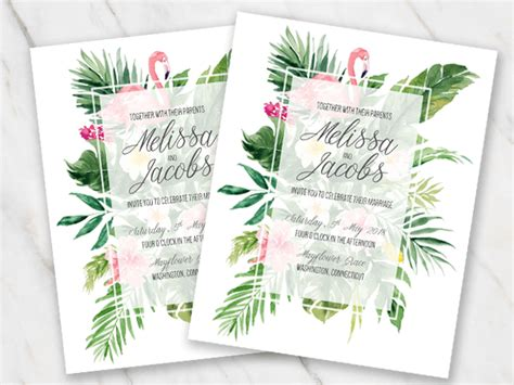 100 Free Wedding Invitation Templates In Word Download Customize Themed Word Template