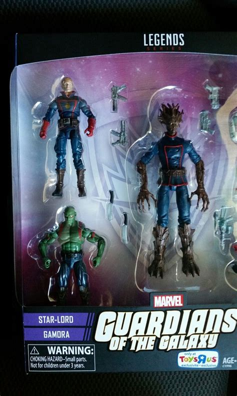 toys r us figures toys r us exclusive marvel legends guardians of the galaxy