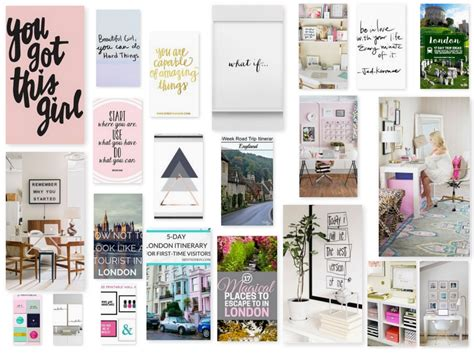 Canva Vision Board | how to create a digital vision board lindsay maloney