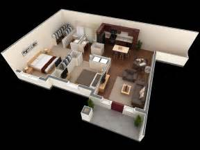Ideal Small House Floor Plans Under 1 000 Square Feet » Home Design 2017