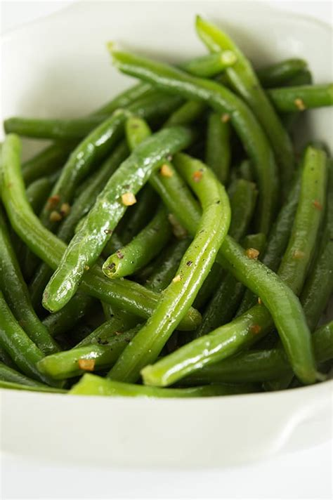 Fashioned Side Garlicky Green Beans by No Fail Butter And Garlic Green Beans Baking Mischief