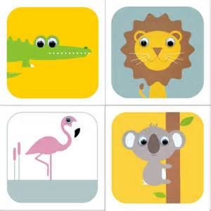 safari animal cards by stripeycats notonthehighstreet
