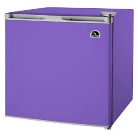 igloo 1 6 cu ft mini refrigerator in purple fr115i