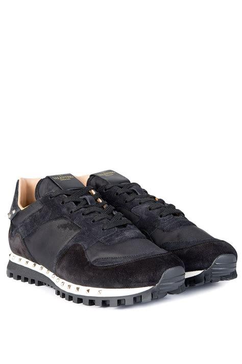 Valentino Studed Garavani valentino garavani studded sole sneakers black