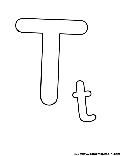 geography blog letter t coloring pages