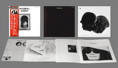Wedding Album Japan by Lennon And Yoko Ono Wedding Album