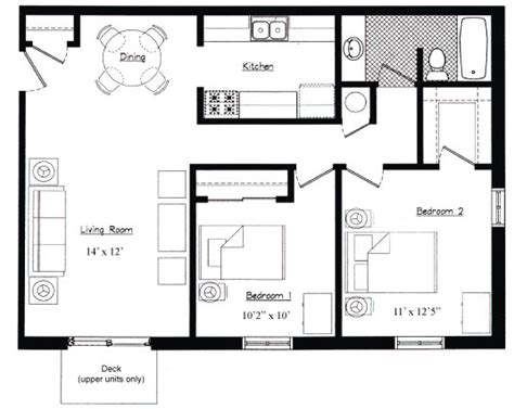 garage plans with 2 bedroom apartment above 18 2 bedroom apartment floor plans garage hobbylobbys info