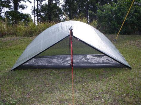 bathtub floor tent light ultralight backpacking shhhhh zpacks hexadome tent