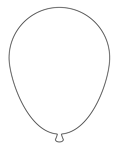 balloon template 17 best images about printable balloon template