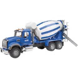 bruder trucks bruder mack granite cement mixer truck 1 16 scale model