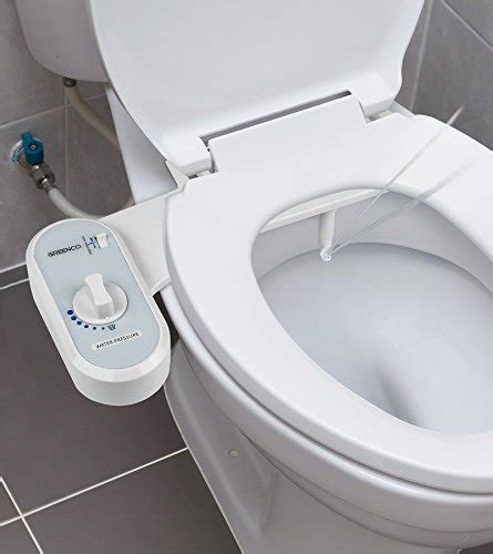 Bidet Toilet Seat Attachment by Greenco Bidet Fresh Water Spray Non Electric Mechanical